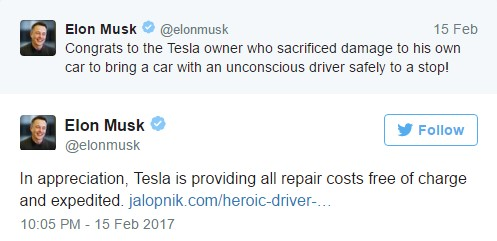 Model S Tesla Car Elon Musк Tweet