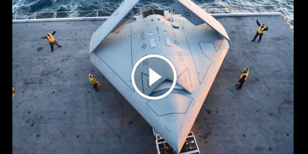 Unmanned Combat Air Vehicle X 47B 1 TN
