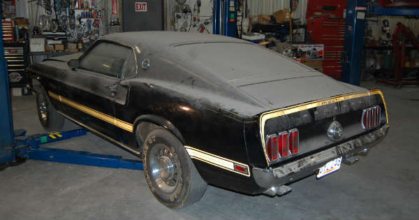 1969 Cobra Jet Mustang Barn Find 33