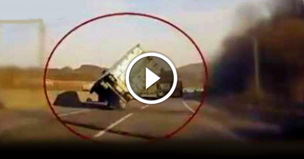Miracle Save Truck Overturn 1 TN