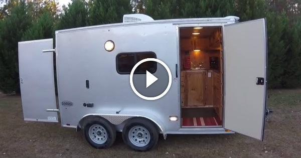 Cargo Trailer Conversion Camper 1 TN