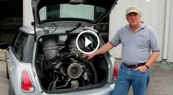 Mini Cooper Car Jet Engine 1 TN