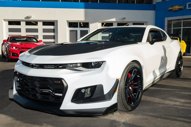 First Look The Brand New 2018 Camaro Zl1 1le Is Going To Be One Very Wild Ride