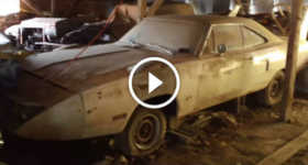 EPIC BARN FIND 500 Charger Ford Talladega BARN FIND