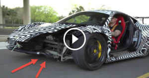 Crashed 458 Ferrari Donuts 1 TN