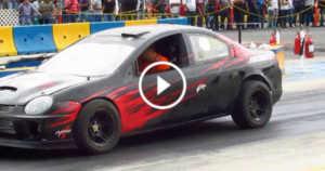 Dodge Neon SRT-4 Burnout 1 TN