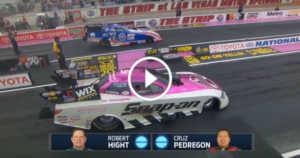 Epic Drag Race Wheelstand Cruz Pedregon 2 TN