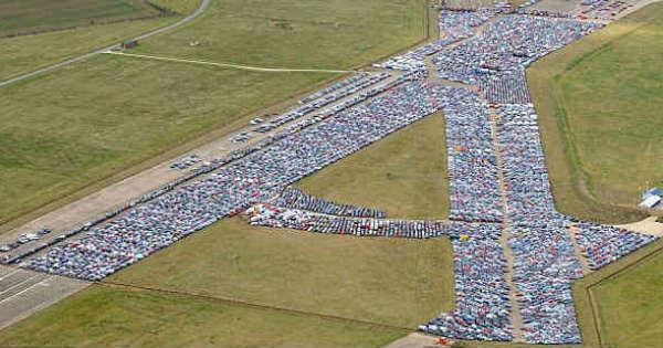 Huge Unsold Car Graveyards 9