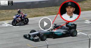 Lewis Hamilton Race F1 Car Yamaha R1M Superbike 1 TN