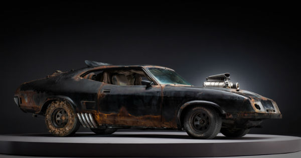Mad Max Movie Cars 1234