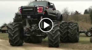 Monster Ford Dually Biggest Truck 2