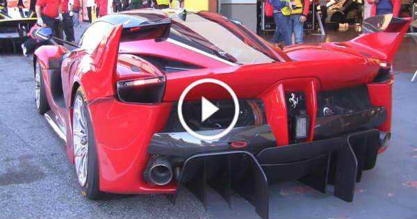 New Ferrari FXX K Sound 1 TN
