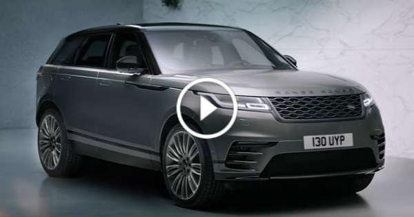 New Range Rover Velar SUV