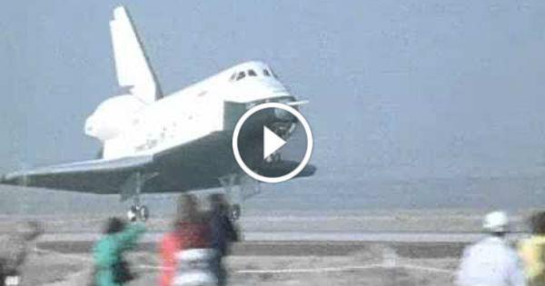 space shuttle enterprise landing - photo #17