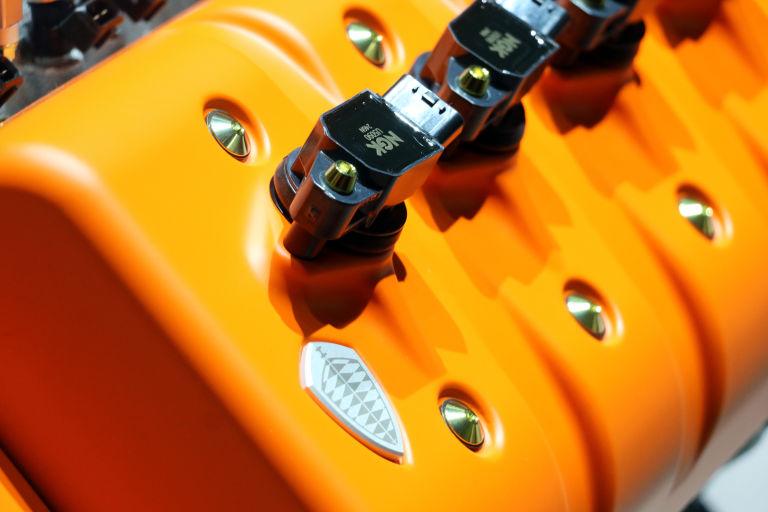 Spyker Koenigsegg engine V8 geneva motor show preliator 6