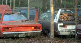 TWO 70 PLYMOUTH SUPERBIRD CARS 2