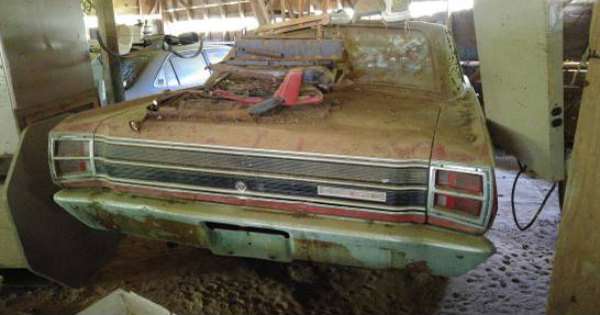 Two 1969 Dodge Dart GTS Cars Barn 20 Years Craiglist 2