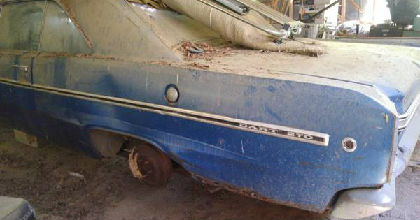 Two 1969 Dodge Dart GTS Cars Barn 20 Years Craiglist 6
