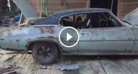1969 Pontiac GTO Barn Find 1 TN