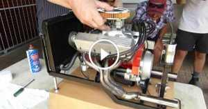 250cc Chevrolet V8 Engine 1 TN