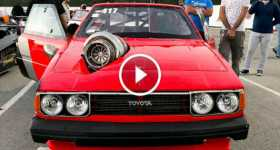 80s Hatchback Toyota Corolla Turbo 2JZ Swap 1500hp 1