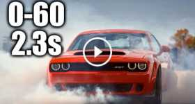 Brand New Dodge Demon 60 MPH 1 TN