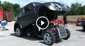 Craziest VW Bug 327 Chevy Engine 2