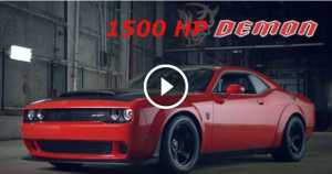 DOUBLE POWER Hennessy Performance 1500HP Dodge Challenger SRT DEMON 2