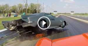 Grudge Drag Race Camaro Crash 1 TN
