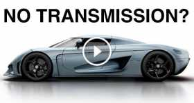 Koenigsegg Regera Car why NO Transmission 1