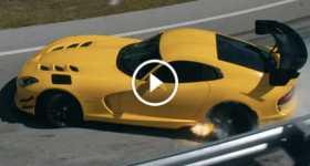 Pennzoil Dodge Viper Video Farewell Last Airborne 2