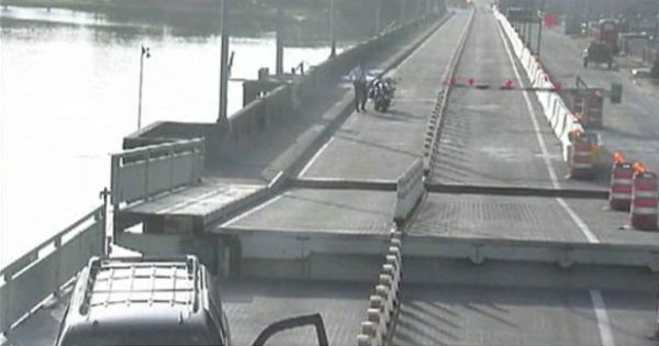 SUV Driver Jumps Over Open Florida Drawbridge 3