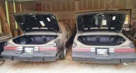 Two Untouched 1987 Buick Grand Nationals Barn Find 5