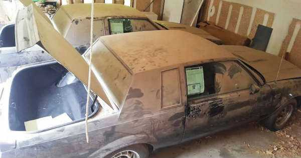 Two Untouched 1987 Buick Grand Nationals Barn Find 6