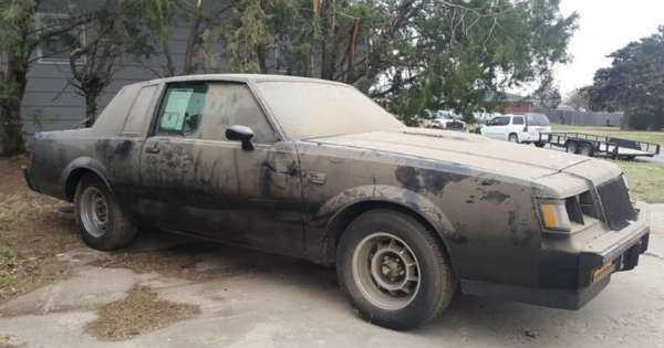 Two Untouched 1987 Buick Grand Nationals Barn Find 7