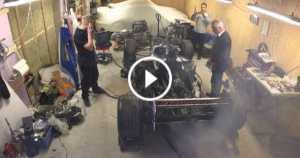 12 Years Of Hibernation This Formula 1 start-up garage smoke 1