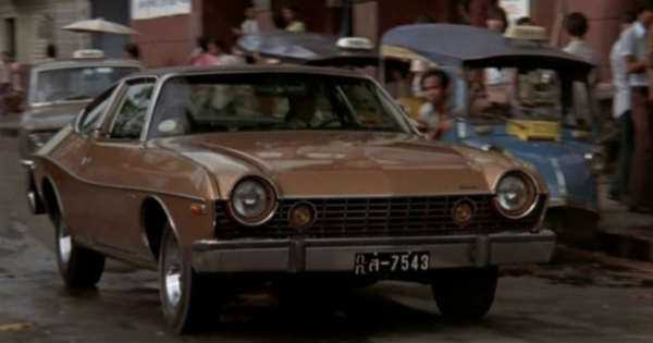 1974-AMC-Matador-Coupe ICONIC Bond Cars driven by Roger Moore