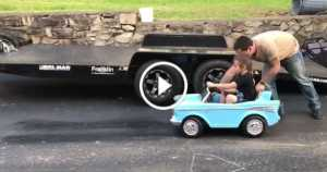 Dad Teaches Daughter Drag Racing Wheelie 1 TN