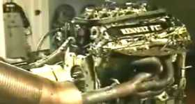 Formula 1 Renault 3 L V10 20000 RPM 7