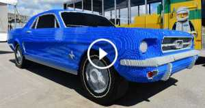 LEGO Ford Mustang 1964 classic 200 000 bricks 2