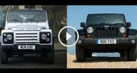 Land Rover Defender VS Jeep Wrangler Rubicon 2 TN