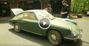 Larry Kosilla Restoring A Classic 1966 Porsche 912 Found In A Barn 2