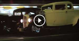 Legendary Street Racing Scene from movie American Graffiti 3