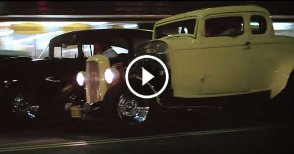 """Chevy Muscle Cars >> The Legendary Racing Scene from The MOVIE """"American Graffiti""""! - Muscle Cars Zone!"""