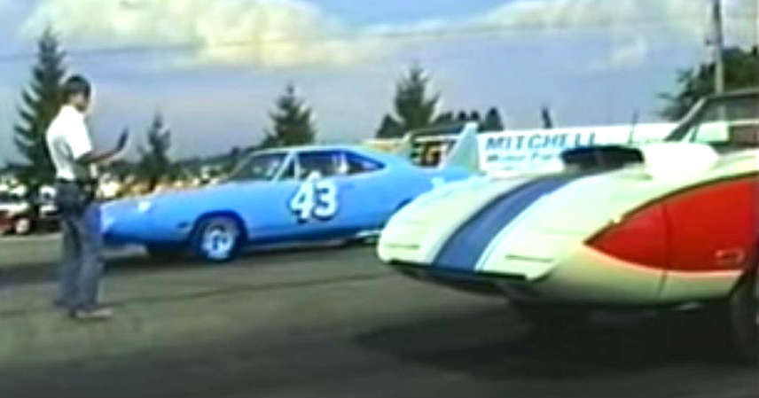 Legendary Superbird Drag Race 4