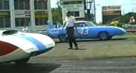 Legendary Superbird Drag Race 7