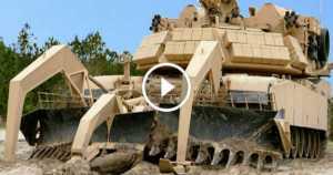 M1 Assault Breacher Vehicle or M1 ABV truck mud 1