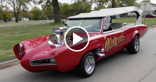 Old Classic Cars >> The Original Legendary MONKEEMOBILE Pontiac GTO!