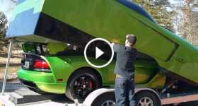 Matching Dodge Viper Trailer 1