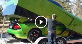 Matching Dodge Viper Trailer 1